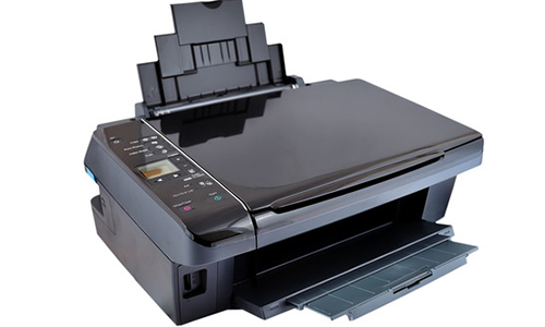 multifunction printer on a white background